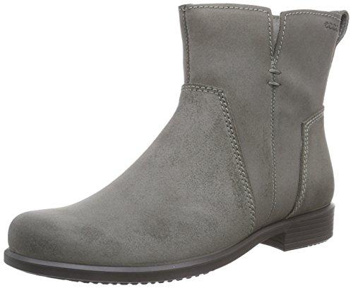 ECCO TOUCH25 264503-05375 warm grey stivaletto donna camoscio grigio