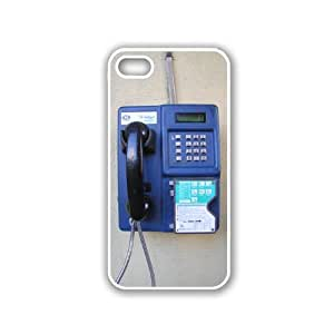 Blue Telephone iPhone 5 Case White - Fits iPhone 5 & iPhone 5S