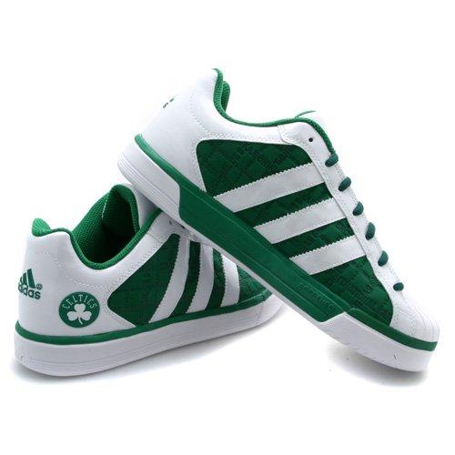 adidas superstar boston celtics green trainers
