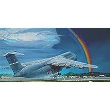 PLASTIC MODEL BUILDING AIRPLANE KIT LOCKHEED C-5B GALAXY 1/144 RODEN 330
