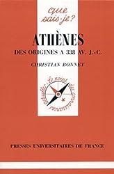Athènes des origines à 338Av. J.-C.