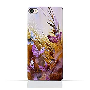 AMC Design Xiaomi Redmi Y1 Lite TPU Silicone Protective Case with Butterfly Oil Paint Pattern Design