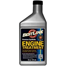 BestLine 853796001049 Premium Synthetic Engine Treatment for Gasoline Engines - 16 oz.