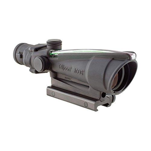 Trijicon ACOG 3.5 X 35 Scope Dual Illuminated Horseshoe/Dot .308 M240 Ballistic Reticle, Green