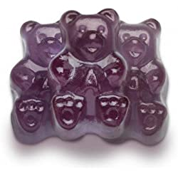 FirstChoiceCandy Albanese Gummy Bears (Grape, 2 LB)