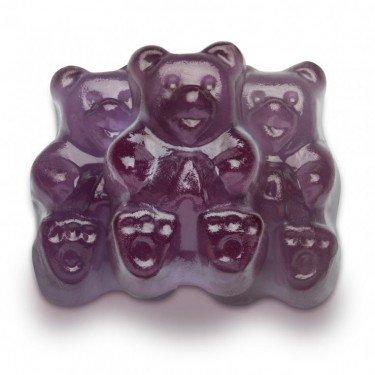 FirstChoiceCandy Albanese Purple Grape Gummy Bears 5 - Candy Grape Gummy