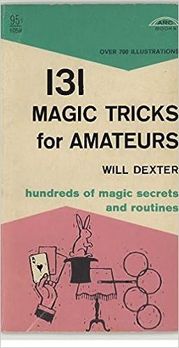 Søk pdf bøker nedlasting131 Magic Tricks for Amateurs B01I8G6WKO (Norsk litteratur) PDF ePub iBook