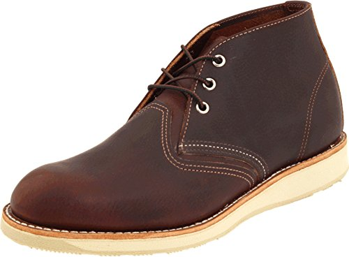 Red Wing Heritage Men's Work Chukka, Briar Oil Slick, 11 W (EE) (Wing Red Chukka)