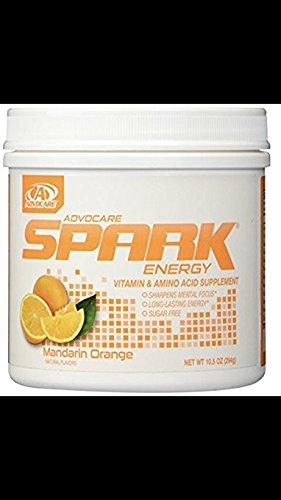 120 Servings Canister (Advocare Spark Canister Mandarin Orange - Brand New! Sealed)