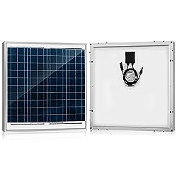 ACOPOWER 60 Watt 60W Polycrystalline Photovoltaic PV Solar Panel Module MC4 12 Volt Battery Charging