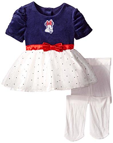Velour Dress Tights - 3