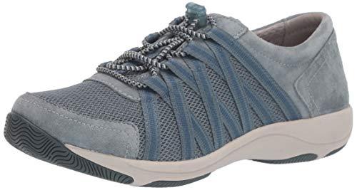 Dansko Women's Honor Sneaker, Slate Suede, 41 M EU (10.5-11 US)