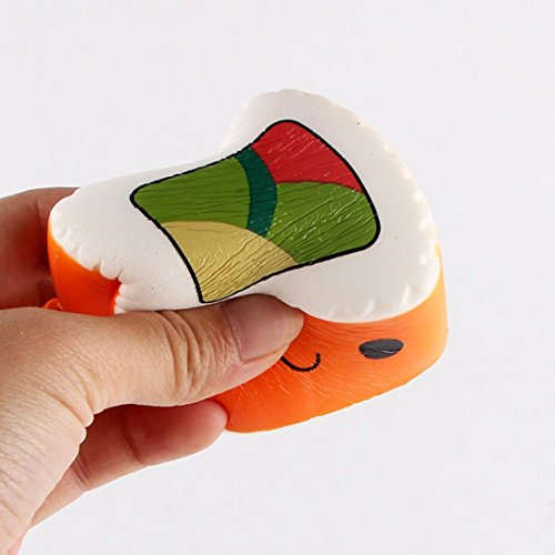 Vovotrade 1PC Hamburger/Sushi/Feeding Bottle Squeeze Toys Scented Slow Rising Funny Toy Relieve Stress Cure Gift (E)
