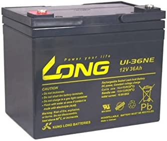 Batería Long U1–36NE 12V 36Ah AGM plomo como 34Ah 41Ah Accu ácido