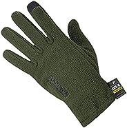 Rapdom Tactical Polar Fleece Gloves, Olive Drab, Small