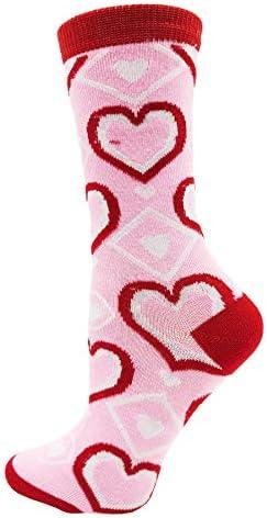 Hacer mi corazón ir Tick Tock día de San Valentín Negro para Hombre Uk Size 5-12 Calcetines-X6N338