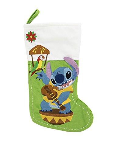 Disney Parks Stitch Christmas Holiday Stocking