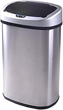 BestOffice 13-Gallon Automatic Trash Can + $3.90 Credit