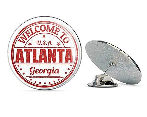 Atlanta USA Round Metal 0.75