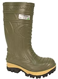 Cofra 00040-CU8.W11 Thermic Metguard EH PR Safety Boots, 11, Dark Green
