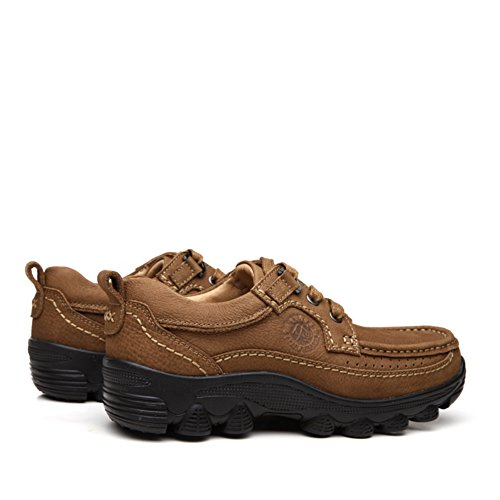 Men's Casual Shoes Dress Mountain Climbing Autumn Outdoor Soft Bottom Sport Shoes Slip On Black-brown A discount best store to get bkTSh