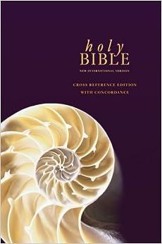 NIV Cross Reference Bible with Concordance Hardback (Bible Niv)