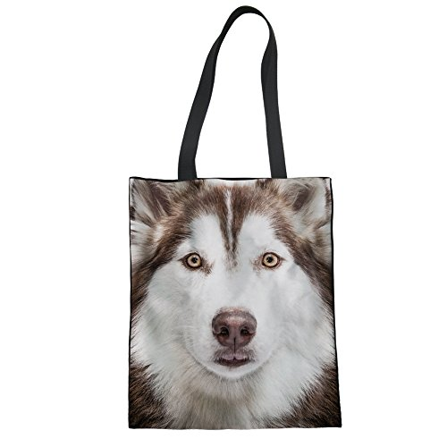 White Dog pour Print Cabas Face femme Nopersonality Wt8FcPaqwt