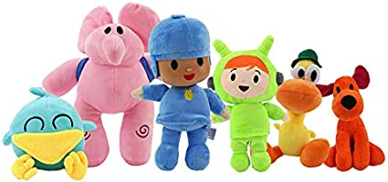 "Pocoyo Plush Soft Toys Nina Pato Elly Loula Bird 16-30cm //6""-12"""