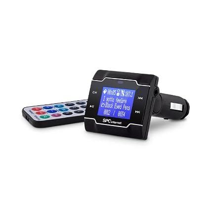 SPCinternet 8250N - Transmisor FM y reproductor MP3 (flash-media ...