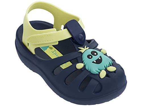 Ipanema Summer VI Girls' Baby Sandals, Blue/Yellow (8 US)]()
