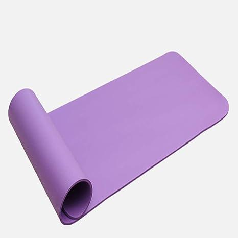 LSJCR Yoga Mat NBR Material de Aerobic Pilates Yoga Mat ...