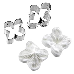 Amazon.com: Hydrangea Flower Cutter Set of 2 and Silicone Veiner by