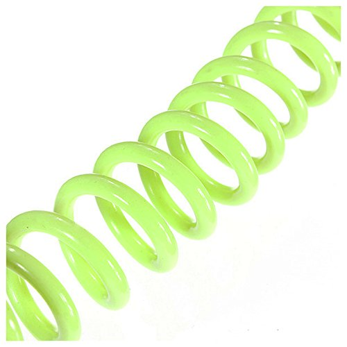 TOOGOO Cable Screw Tips to Remind The Motorcycle Scooter Anti-Theft Lock Plate Steel Yellow