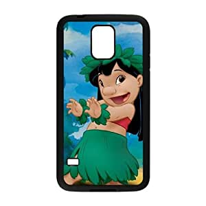 SamSung Galaxy S5 phone cases Black Lilo &amp Stitch cell phone cases Beautiful gifts JUW80987144