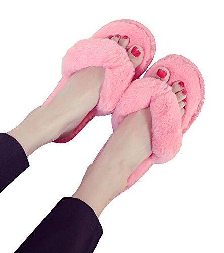 5 Pantofole Antiscivolo Ancoz Calde In Colori Rosa Infradito Donna Morbide Da tUPTw8