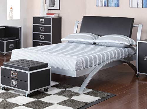 LeClair Full Platform Bed - 300200F- Coaster Furniture Coaster Furniture Contemporary Bed