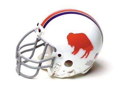 Bills Throwback Mini - Riddell Buffalo Bills (1965-73) Authentic Mini NFL Throwback Helmet