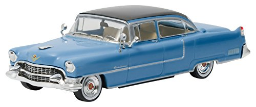 "GreenLight Hollywood - Elvis Presley (1935-77) - 1955 Cadillac Fleetwood Series 60 ""Blue Cadillac (1:43 Scale) Vehicle"