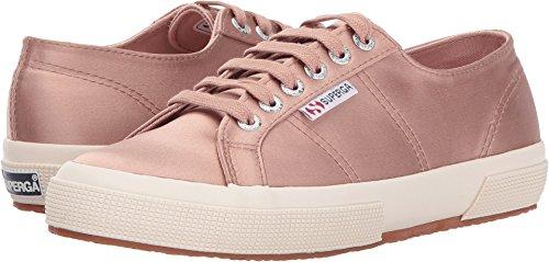 Superga Women's 2750 Satin Fashion Sneaker, Blush, 39.5 EU/8.5 M - Footwear Satin Blush