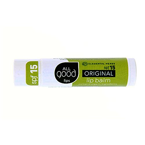 All Good Lips - SPF 15 Lip Balm - (Flavored Vanilla Body Powder)