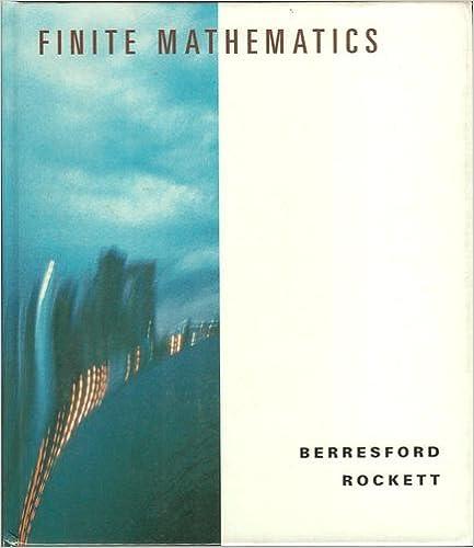 Finite Mathematics Books Free Download Sites