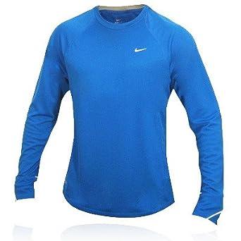 0f5d9b02 Nike Miler Long Sleeve UV Running Top, Size XXL: Amazon.co.uk: Clothing
