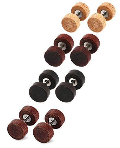 9 16 plugs solid steel - 2