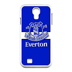 Everton Logo G5L84Y8PZ funda Samsung Galaxy S4 9500 funda caso 85C48X blanco
