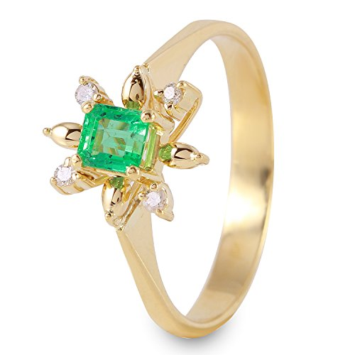 0.38 Ct Emerald Cut Diamond - 3