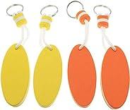 Floating Keychain Floating Key Chain Lightweight Key Float,Floating Key Ring Oval Foam Float Floating Keyring
