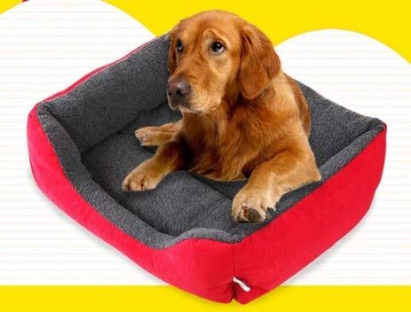 S GaoMiTA Candy-colord Kennel mat Warm and bite-Resistant pet nest (Size   S)