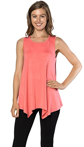 coral tops for women - 5