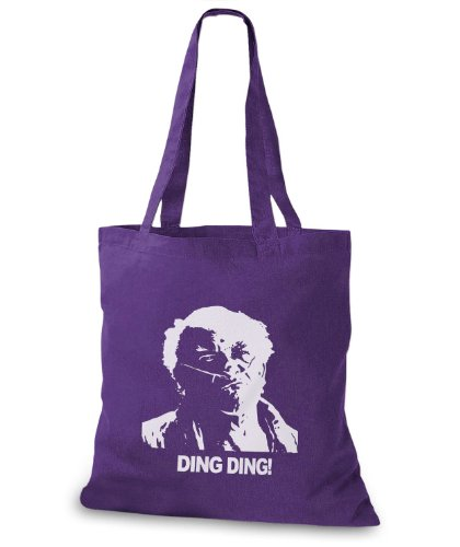 StyloBags Jutebeutel / Tasche Ding Ding... Lila