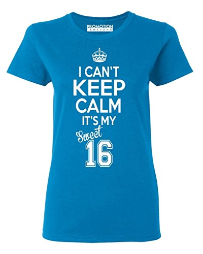 P&B Sweet Sixteen It's My Birthday! Women's T-Shirt, 2XL, (2001 Sweet)